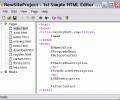 1st Simple HTML Editor Screenshot 0