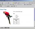 JXHTMLEDIT - WYSIWYG XHTML Editor Screenshot 0