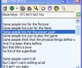 EvilLyrics Screenshot 0