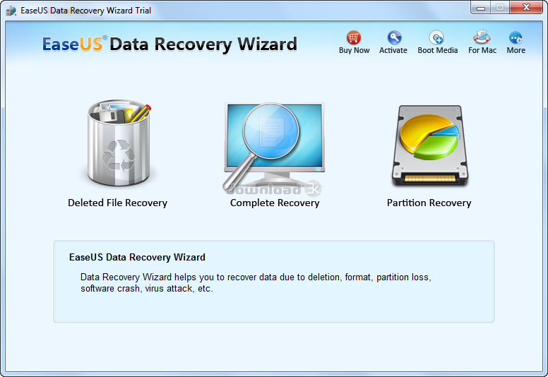 EaseUS Data Recovery Wizard 12.9.1 Key + Code _Working. Scans the storage apparatus sector by industry to guarantee retrieval effects. From here, it is possible to execute the scan to recoup your information.