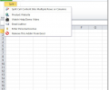 Excel Split Cells Into Multiple Rows or Columns Software Screenshot 0