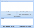 Extract Email Addresses From Text & HTML Files Software Screenshot 0