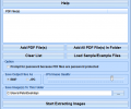 PDF Image Extract Software Screenshot 0
