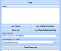 Remove Text, Spaces & Characters From Files Software Screenshot 0