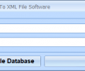 MS Access Export Table To XML File Software Screenshot 0