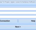 Oracle Change Case To Proper, Upper, Lower & Sentence Software Screenshot 0