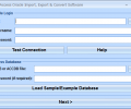 MS Access Oracle Import, Export & Convert Software Screenshot 0