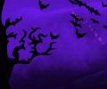 Screechy Bats Halloween Wallpaper Screenshot 0