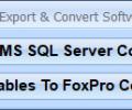 MS SQL Server FoxPro Import, Export & Convert Software Screenshot 0