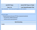 Extract Email Addresses From Multiple PDF Files Software Screenshot 0