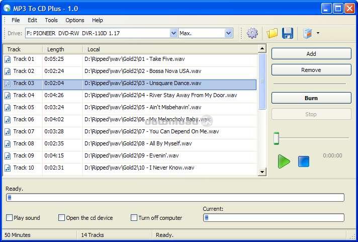 t l charger mp3 to cd plus 1 0 essai gratuit graver un cd audio partir de fichiers mp3 wma. Black Bedroom Furniture Sets. Home Design Ideas