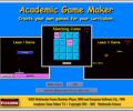 Academic Games Maker and Player Screenshot 0