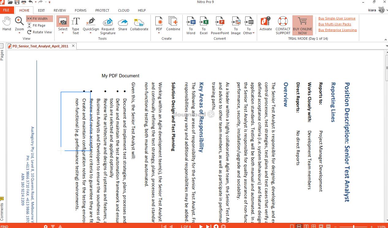 Nitro PDF Professional - Télécharger Gratuit. Créer, modifier et convertir des fichiers PDF avec l'alternative Acrobat. - Téléchargement gratuitement.