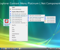 Explorer Context Menu Platinum (.Net Component) Screenshot 0