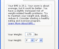 Body Mass Index Counter Screenshot 0