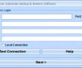MS SQL Server Automatic Backup & Restore Software Screenshot 0