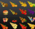 FPS Food Icons Screenshot 0