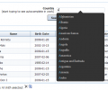 PHP DataGrid AJAX Enabled Web Control Screenshot 0
