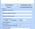 Split CSV Files Into Multiple Files Software Screenshot 0