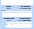 Outlook Zip and Email Files Quickly Software Screenshot 0