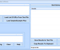 Extract Meta Tags From Multiple Websites Software Screenshot 0