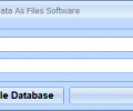 MS Access Save Binary Data As Files Software Screenshot 0