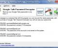 Google Talk Password Decryptor Screenshot 0